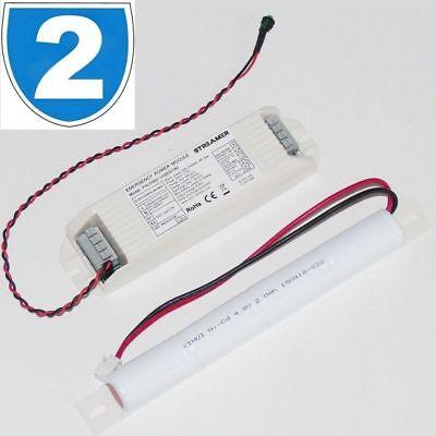 2x Led 12v Downlight Mr16 Emergency Spot Ceiling Light Fitting Conversion Module Seniliteit Uitstellen