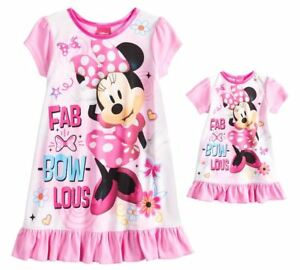 8a72b1f085 Girl 2T-5T and Doll Matching Minnie Nightgown Clothes American Girls ...