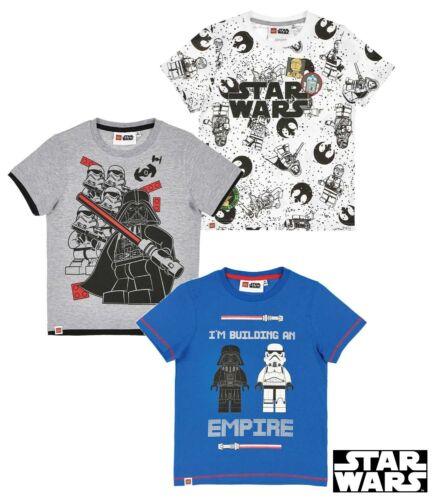 Lego Star Wars Kids Boys T-Shirts 4-10 Yrs New  2018
