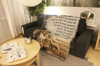 Jesus Christ God Couch blanket tapestry wall hangings Religious Afghan shepherds