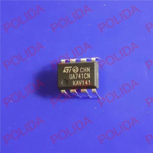 50PCS OPERATIONAL AMPLIFIER IC ST DIP-8 UA741CN