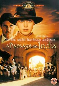 A PASSAGE TO INDIA -David Lean, Judy Davis, Victor Banerjee NEW REGION 2 DVD PAL