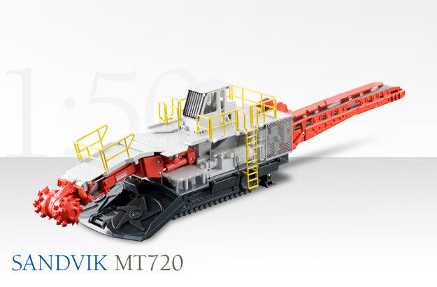 Conrad 2513 Sandvik MT720 Roadheader High Detail O scale 1 50 MIB