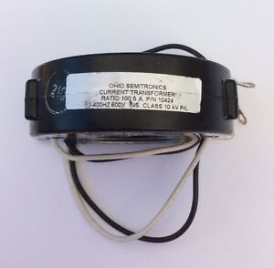 TS-6 ELECTROMAGNETIC CORPORATION Current Transformer 2547 RW-600