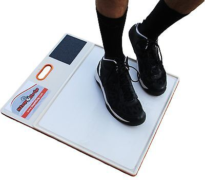 Stop Slipping on the Court. StepNGrip NEWEST Traction System. NEVER needs rep...