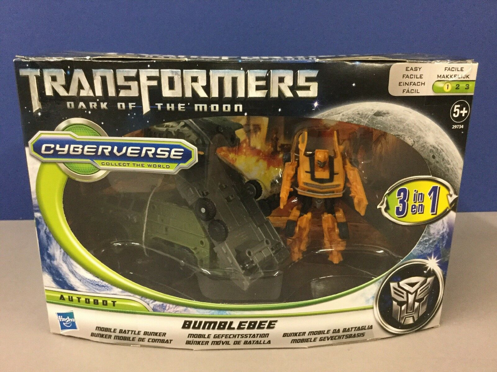 Transformers Cyberverse-Bumblebee Mobile Battle Station 3 in 1