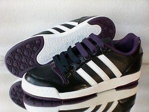 Details zu Adidas MIDIRU COURT W Damen Sneaker- Turnschuhe Originals Leder  Gr:36-41 schwarz