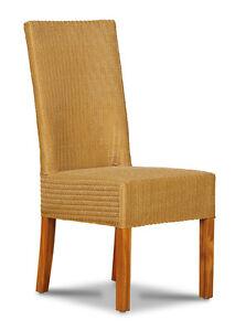 Tremendous Lloyd Loom Natural Dynamo Dining Chair Ll2N Ebay Ibusinesslaw Wood Chair Design Ideas Ibusinesslaworg