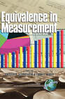 Equivalence in Measurement by Information Age Publishing (Paperback, 2001)