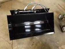 Tilting Bucket For Mini Skid Steer Fits Terrex Pt 30 Asv Rc 30 Up To 48 Wide