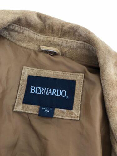 Bernardo 100 Kvinders Frakke Størrelse Farve Tan Lille Læder 11qrAa8w