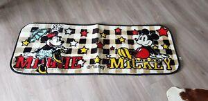 Details zu Mickey Mouse Teppich Minnie Original USA Disney Kinder selten  Raritäten sammel
