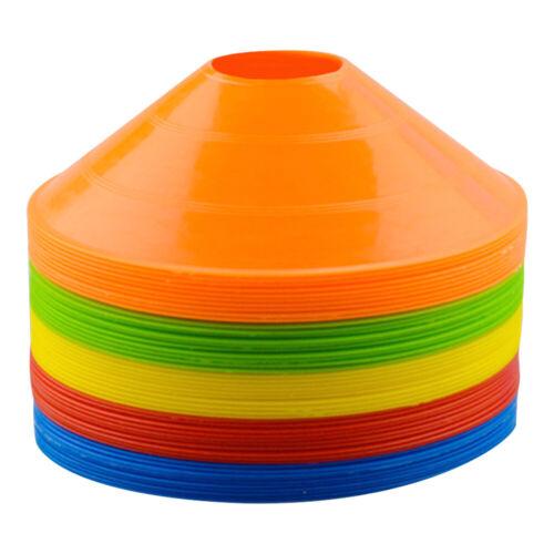 50//100//150 Disc Cones Soccer Football Field Marking Cross Training Track