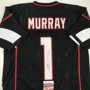 Autographed-Signed-KYLER-MURRAY-Arizona-Black-Football-Jersey-JSA-COA-Auto