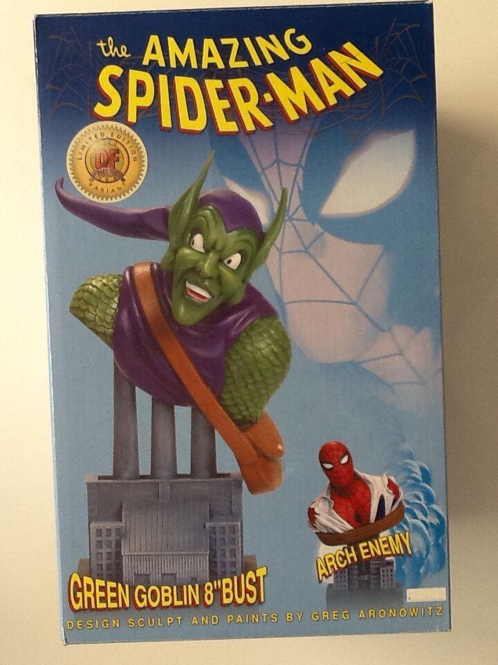Duende verde desenmasCocheado 8  Busto  224 900 fuerzas dinámicas Universo Marvel (Hombre Araña