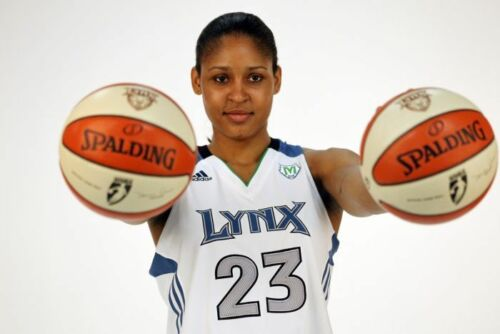 G Choose a Size MAYA MOORE WNBA Photo Quality Poster