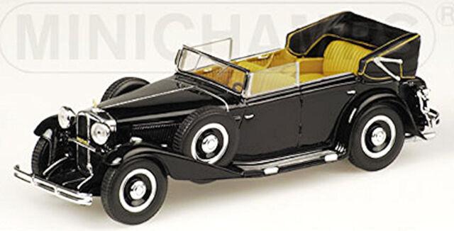 Maybach Zeppelin DS8 Cabriolet 1930-37 Black 1:43 Minichamps