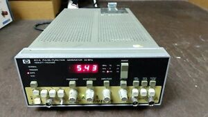 HP 8111A Pulse Function Generator 20 MHz