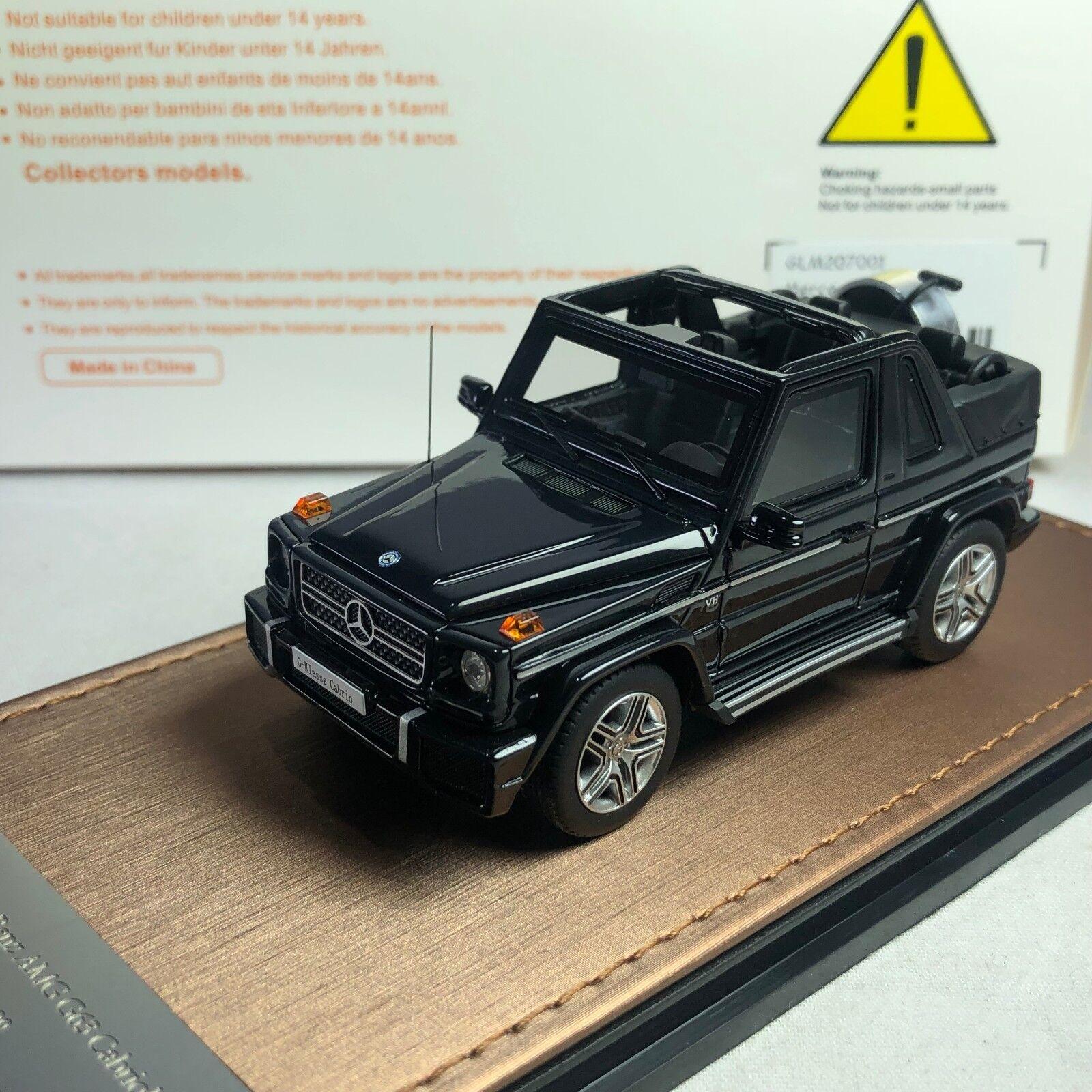 1   43 bma modell mercedes - benz amg cabriolet glm207001 g-class eröffnet.