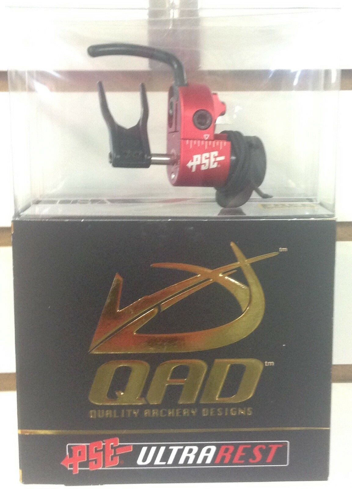 NEW QAD ULTRA PRO SERIES HDX PSE RED COLOR ARROW REST HD-X RIGHT HANDED