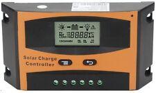 Regolatore di Carica x Pannello Solare Fotovoltaico Camper Nautica 12/24V 30A