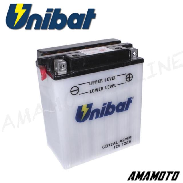 BATTERIA UNIBAT CB12AL-A2=YB12AL-A2 BMW F CS SCARVER (K14) 650 2002-2005