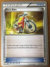 Pokemon TCG : 4 X ACRO BIKE 122/160 World Championship PROMO Uncommon