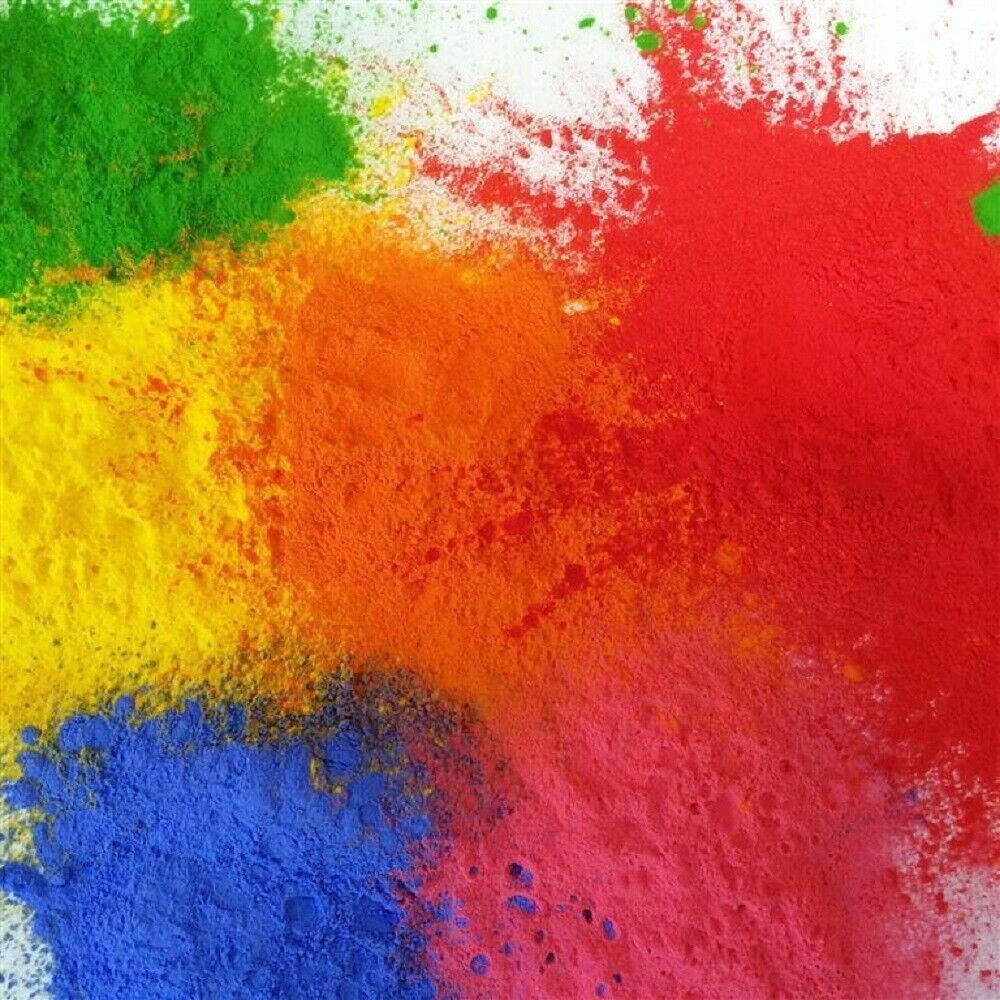 15KG TUBS - FESTIVAL COLOUR THROWING  HOLI GULAL POWDER 6 COLOURS AVAILABLE