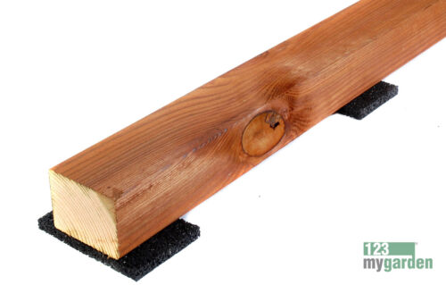 Gummigranulat Pads 20 mm Höhe für Terrassendielen Unterlage Unterkonstruktion