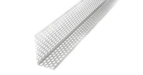 ProfileXXL Lüftungswinkel Alu Länge 2m30x40 mm20 Fassaden Lüftungsprofil