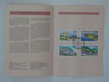 (95j25) Bund Erinnerungsblatt 1995 ESST Mi.Nr.  1807-1810 Bilder aus Deutschland