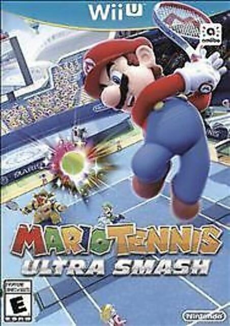 Mario Tennis: Ultra Smash USED SEALED (Nintendo Wii U, 2015)
