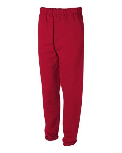 Super Sweats Cotton//Poly Elastic Bottom Mens Sweatpants With POCKETS S-2XL 3XL