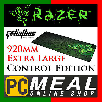Razer Goliathus Control Edition Fragged Gaming Mouse Mat Pad Extra large Extend