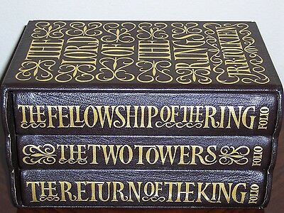 Folio Society Limited Numbered THE LORD OF THE RINGS TRILOGY J.R.R. Tolkien