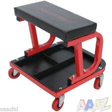 Mechanics Padded Creeper Trolley Seat Car Van Garage Tool Workshop Stool