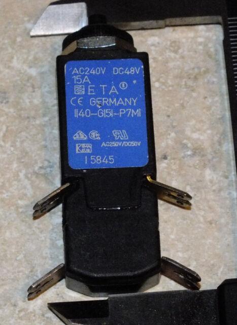 ETA 104-PR3-6A 6A CIRCUIT BREAKER E-T-A NEW 5
