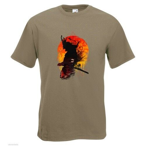 Samurai Code Sword Anime Lou Japaneses Art Graphic T Shirt Tee Shirt Print