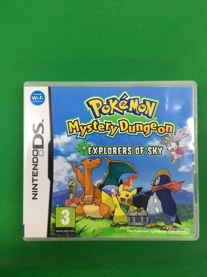 Pokemon Mystery Dungeon, Nintendo DS