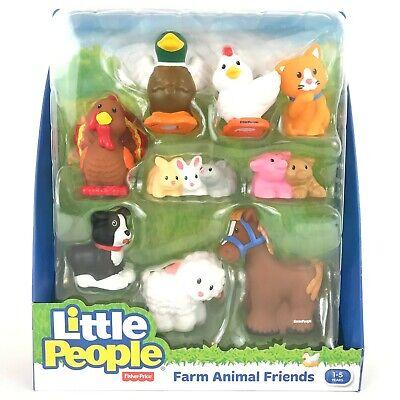 Fisher Price Little People CowFarm Animal Cute Baby Pre-School Figure Kids Toys