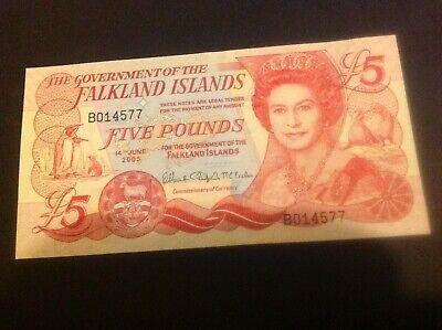 Falkland Islands Banknote 5 Pounds 2005 UNC