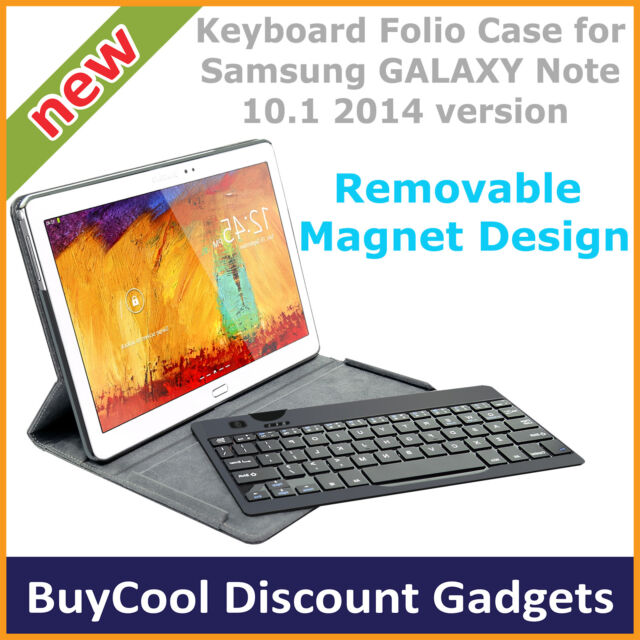 mbeat Bluetooth Keyboard Case ONLY for Samsung Galaxy NOTE 10.1 2014 Version