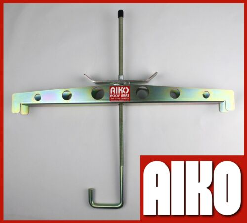 Vauxhall Combo roof rack 3 bar load stop set 12-18 1 pair ladder clamps LC316