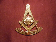 "Masonic-Past-Master cut-out car/auto Emblem 3""  tall (PSC013) *"