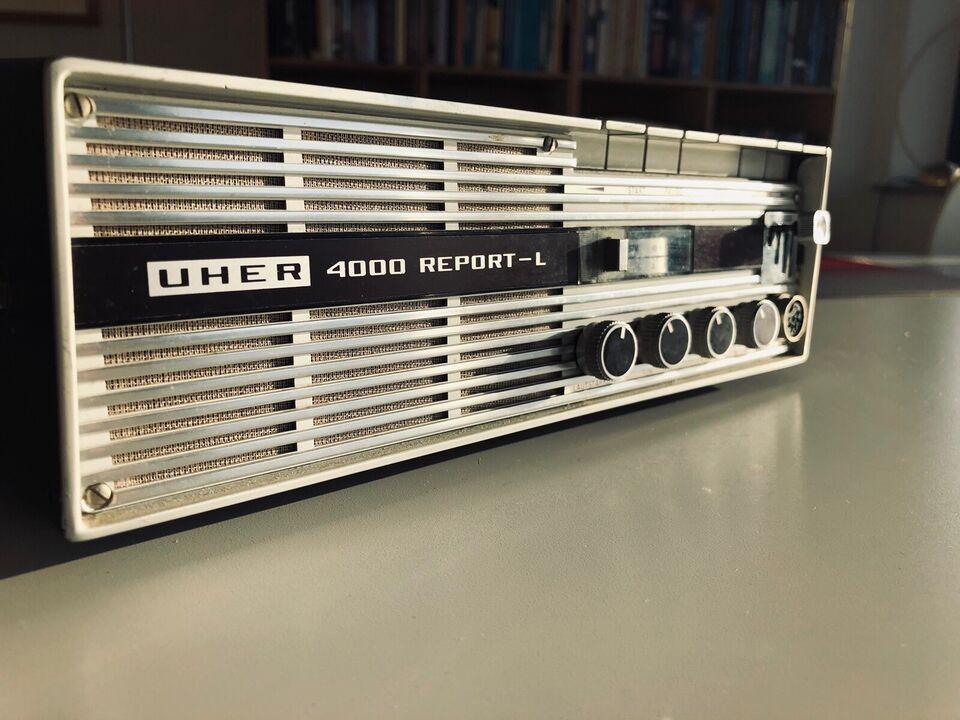 Spolebåndoptager, Andet, UHER 4000 REPORT-L