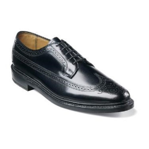 Florsheim Mens Shoes Kenmoor Imperial Wingtip Black Leather 17109-01 EEE Wide for cheap