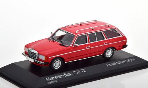 1:43 Minichamps Mercedes 230 TE rot 1982 W123