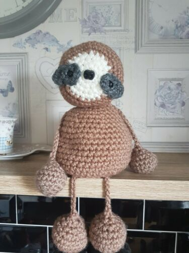 Email Crochet pattern for amigurumi chunky cuddly soft toy Sloth