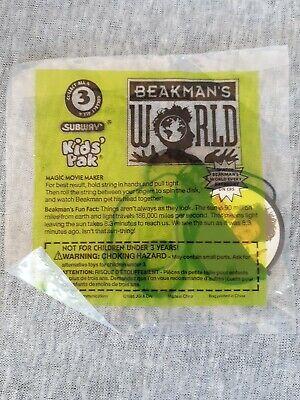 Vintage 1995 Subway Kids Pack Beakman/'s World Flip Top Sealed Science