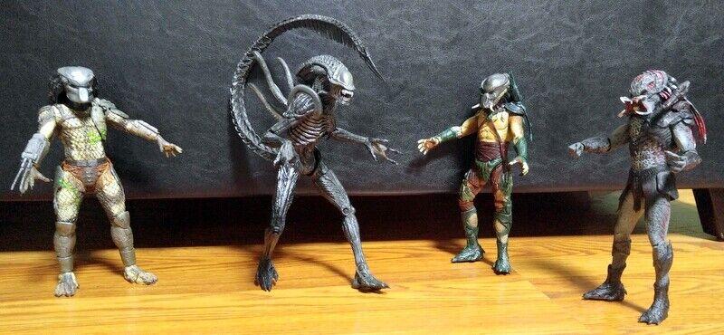 Prossoators e Alien 8 in azione cifras